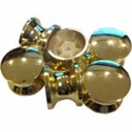 Large Polished Brass Knob (1)